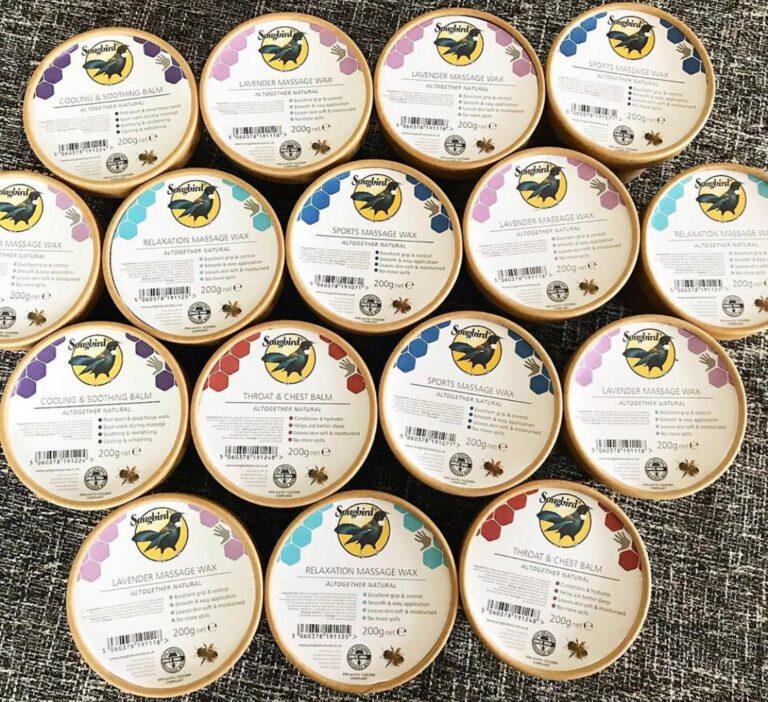 Ecotubs Sonbird Massage Wax Nederland